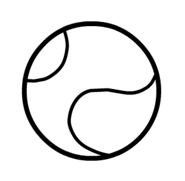 Теннисный мяч Раскраски для мальчиков