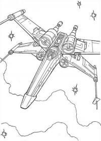 Военный космический корабль Раскраски для мальчиков бесплатно