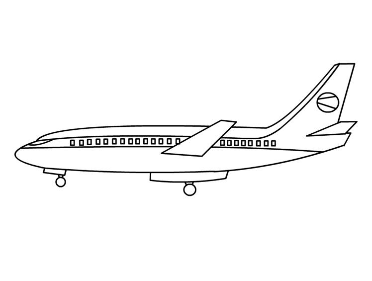 пассажирский самолет лайнер скачать раскраски для мальчиков
