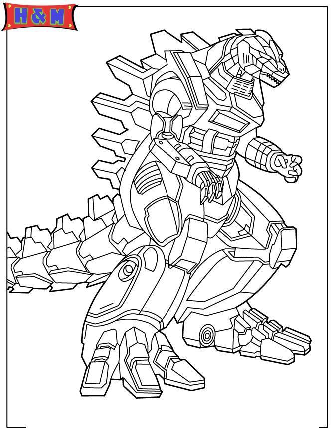 Робот ящер Раскраски для мальчиков