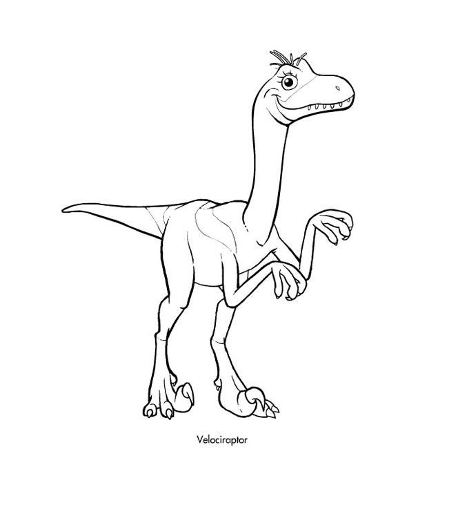 Поезд динозавров, велоцераптор Раскраски для детей мальчиков