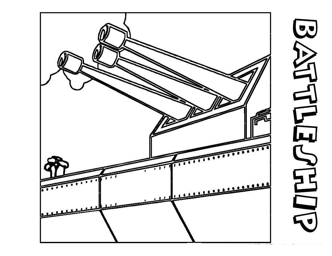 Оружие на корабле Раскраски для мальчиков