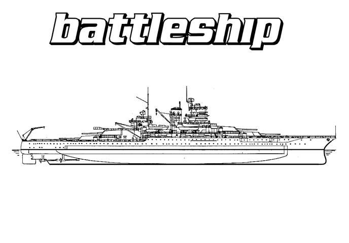 Вооруженный корабль Раскраски для мальчиков