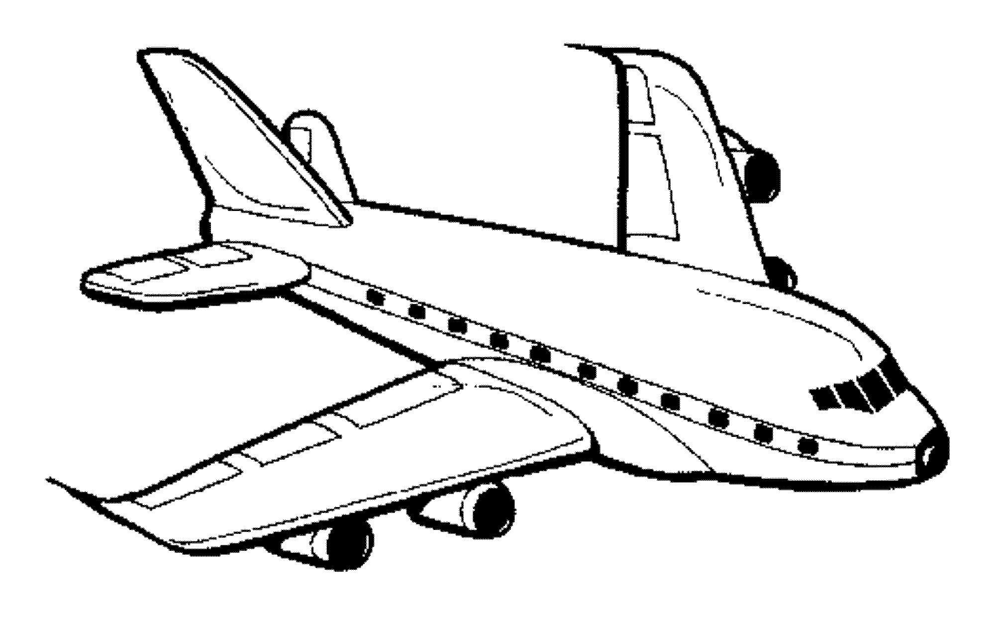 Самолет Распечатать раскраски для мальчиков