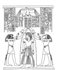 Древний мир, истории египта Раскраски для мальчиков бесплатно