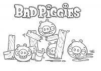 Angry birds злые птички, плохие хрюшки Раскраски для детей мальчиков