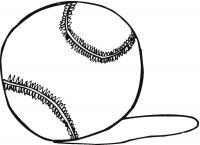 Теннисный мяч, тень от мяча на поле Раскраски для мальчиков
