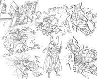 Супер герои и супер злодеи Распечатать раскраски для мальчиков