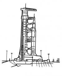 Ракета на станции, аэродром Раскраски для мальчиков