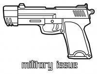 Оружие Раскраски для мальчиков