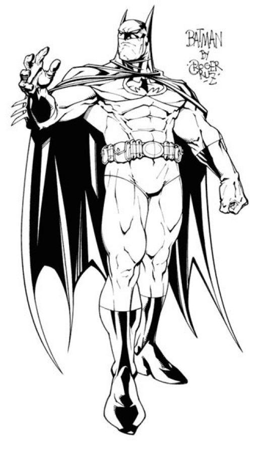Бетмен Скачать раскраски для мальчиков