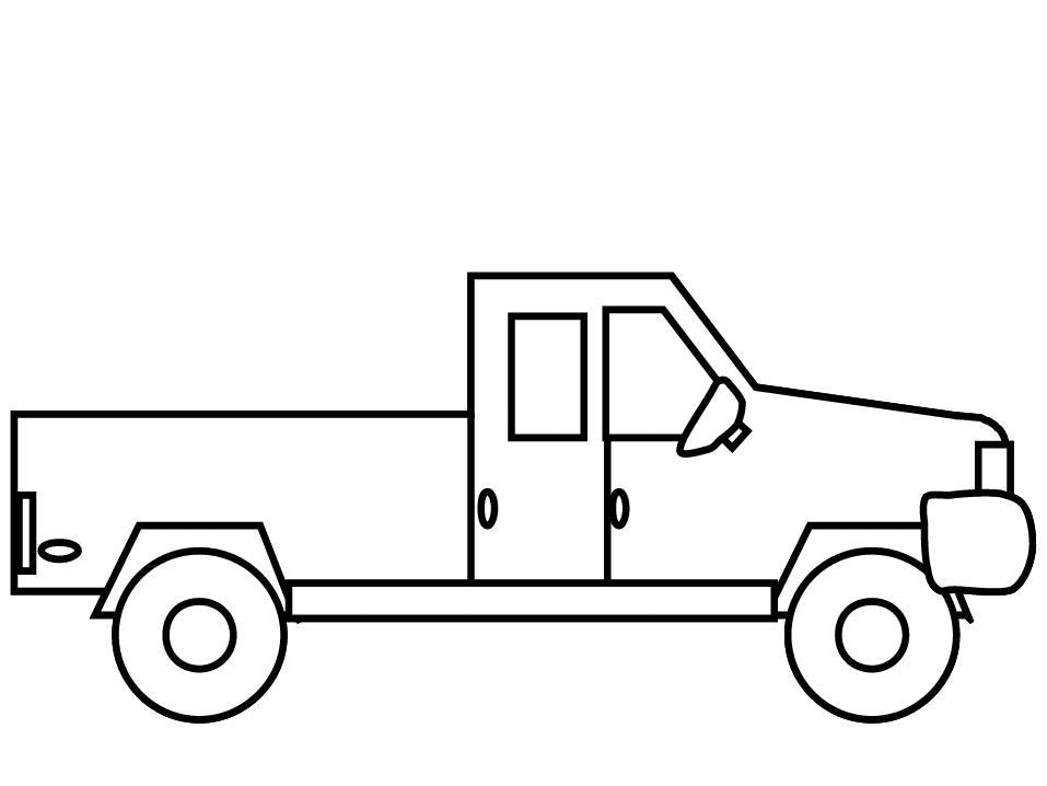 Грузовой автомобиль Раскраски для мальчиков