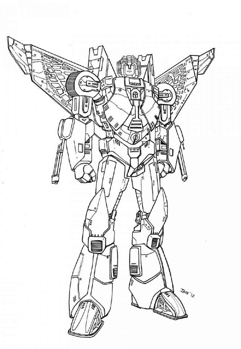 Трансформер с крыльями Раскраски для мальчиков