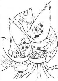 Инопланетяне с тремя глазами Раскраски для мальчиков