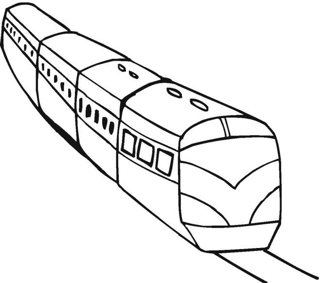 Поезд Распечатать раскраски для мальчиков