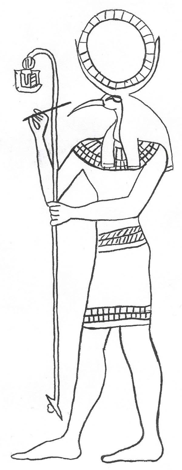 Древний мир, боги египта Раскраски для мальчиков