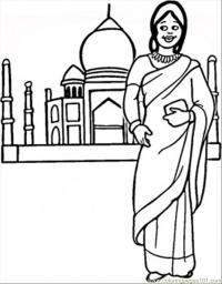 Древний мир, индия Раскраски для мальчиков