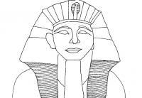 Древний мир, фараон Раскраски для мальчиков