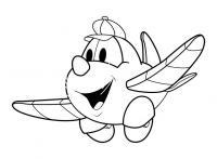 Самолет в кепке, дисней Раскраски для мальчиков
