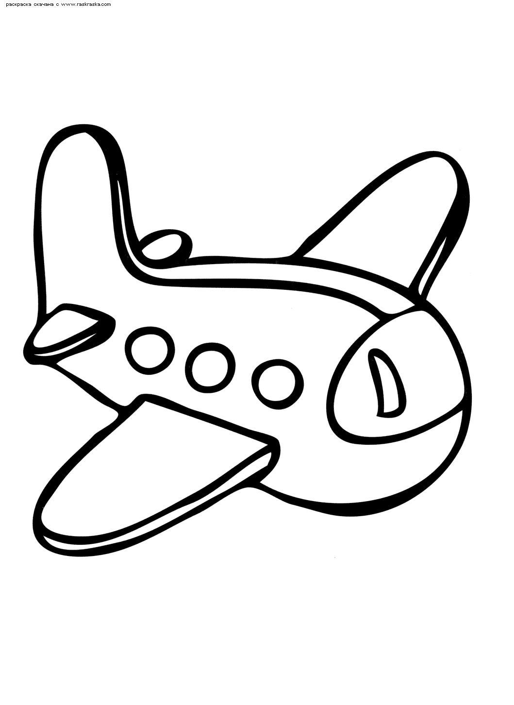 Самолет Раскраски для мальчиков