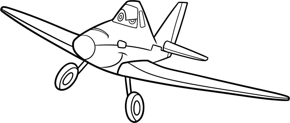Самолеты дисней, дасти Раскраски для мальчиков