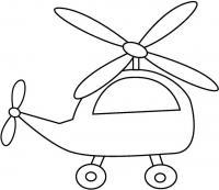 Вертолет Раскраски для мальчиков