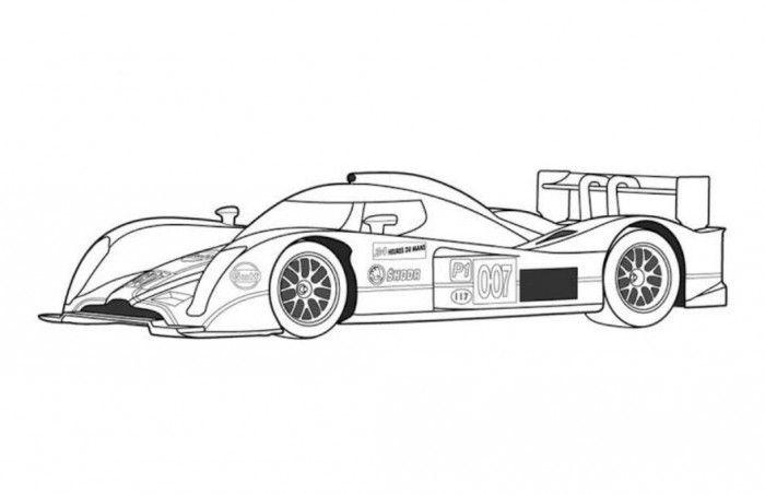 Суперкары гоночные авто Раскраски для мальчиков бесплатно