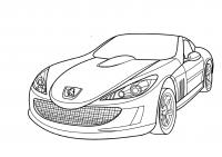 Суперкары гоночные авто Скачать раскраски для мальчиков