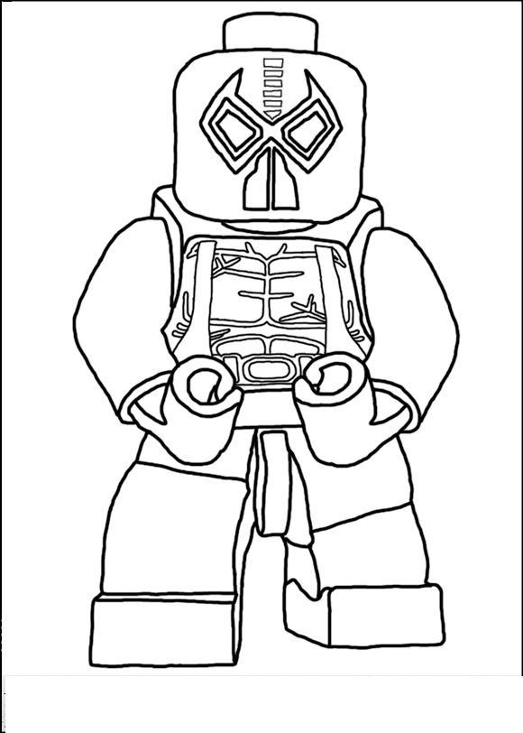 Лего бэтмен Раскраски для мальчиков