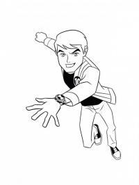 Бен тен Скачать раскраски для мальчиков